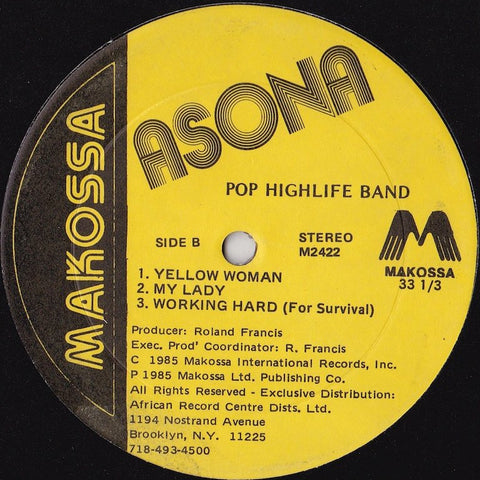 Asona - Pop Highlife Band