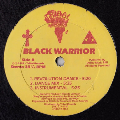 Black Warrior - Slave Man / Revolution Dance