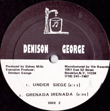 Denison George - Give Me Love / Forgiveness