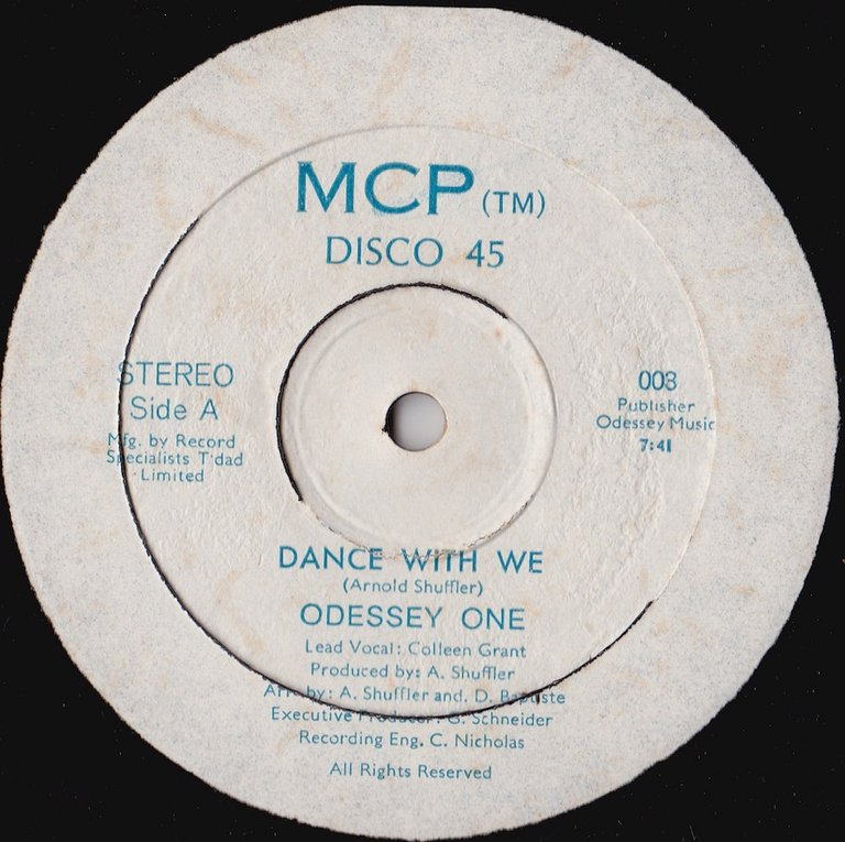 Odessey One - Dance With Me