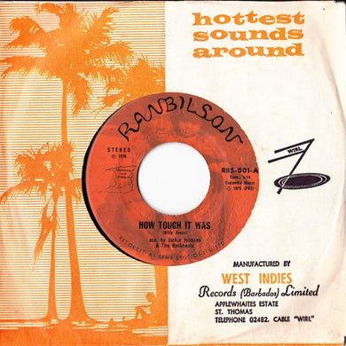 Jackie Johnson & The Backbeaters / Billy Reece - How Tough It Was / Soul Dignity