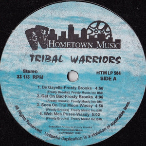 Frosty Brooks, Black Warrior - Tribal Warriors