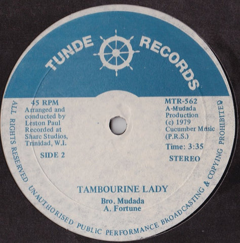 Brother Mudada - Human Rights / Tambourine Lady