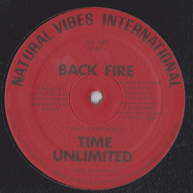 Time Unlimited / Samuel Mickle - Back Fire / Bubbling