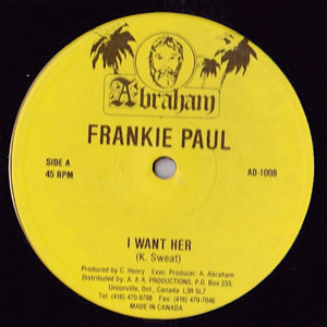 Frankie Paul - I Want Her