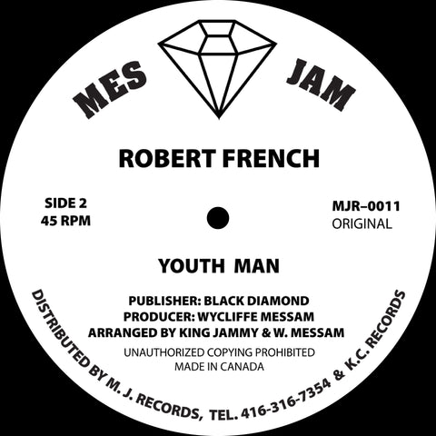 Robert French / Don Angelo - Youth Man / Get My Loving