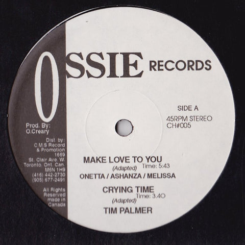 Tim Palmer - Make Love To You