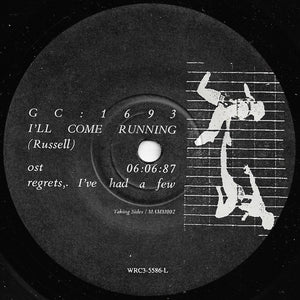 GC: 1693 (Andrew Zealley) / The Institute Of Unusual Studies (Dianne Bos) - I'll Come Running / My Baby She Moves So Slow