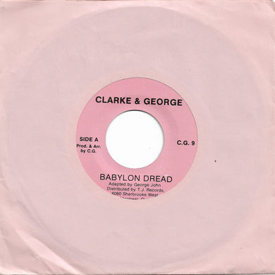 Clarke & George - Babylon Dread / Mercy Mercy