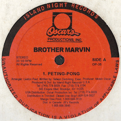 Brother Marvin - Peting-Pong