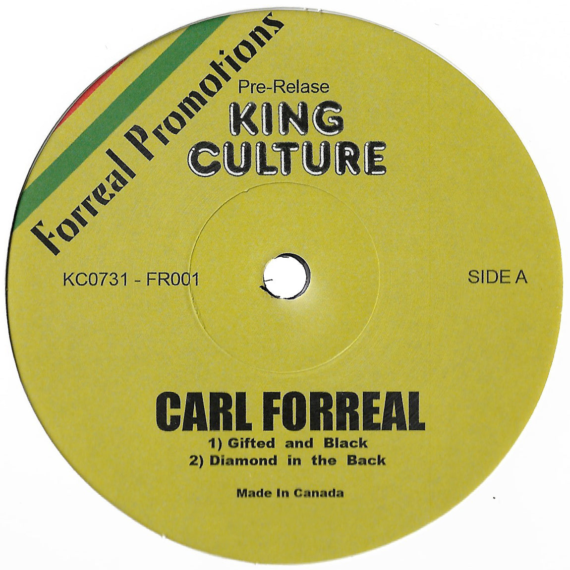 Carl Forreal - Pre-Release
