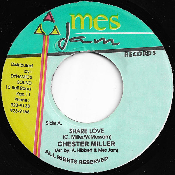 Chester Miller - Share Love