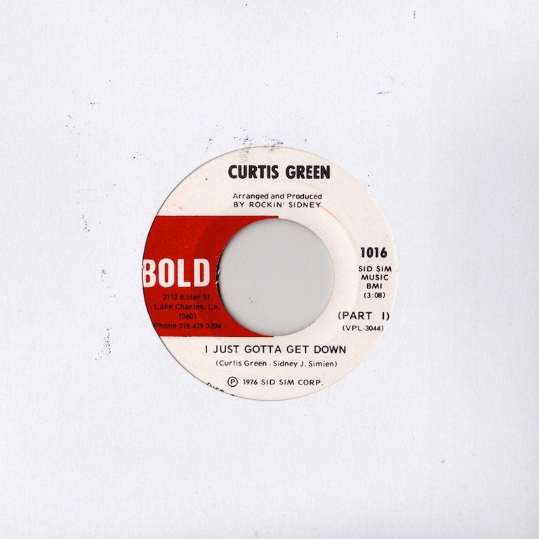 Curtis Green - I Just Gotta Get Down