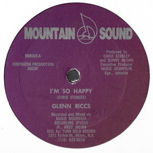 Glenn Riccs - I'm So Happy / Keep On Dancing