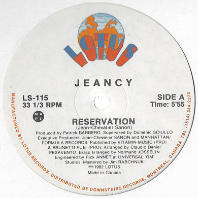 Jeancy - Reservation