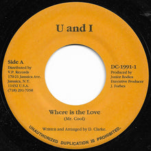 Mr. Cool - Where Is The Love