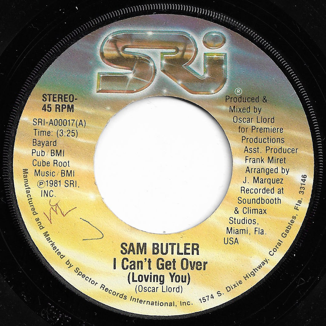 Sam Butler - I Can't Get Over (Loving You)