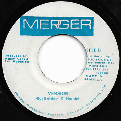 Barry Boom Featuring Cutty Ranks - Kissing You / Sly/Robbie & Handel - Version