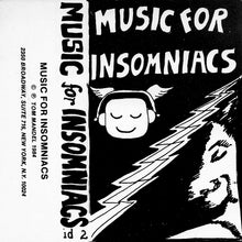 Tommy Mandel - Music For Insomniacs (2020 Cassette)