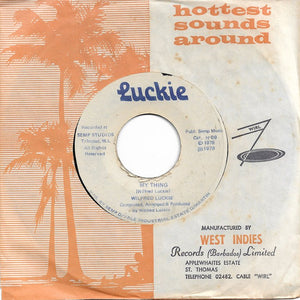 Wilfred Luckie - My Thing