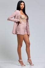 Pearl Blazer and Short Set