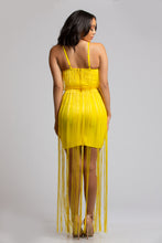 Bandage Fringe Dress