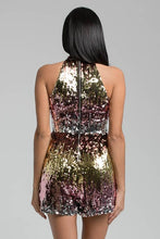 Multi-Color Sequin Romper