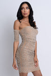 nude rhinestone dress, nude embellished dress, sequin dress, nude club dress