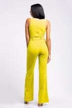 Neon Lime Jumpsuit