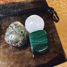 Malachite + Pyrite + Selenite Abundance Kit