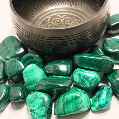 Malachite (Tumbled) Large
