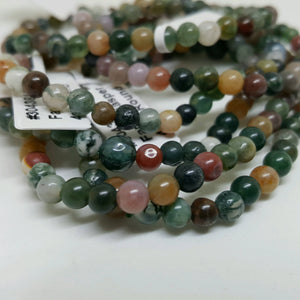 Fancy Jasper Bracelet (4mm)