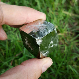 Pyrite (Fool's Gold) Cube