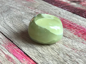 Green Aragonite (Tumbled)