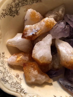 Heat-treated Amethyst Points