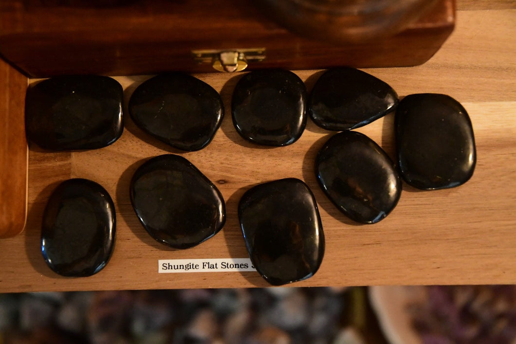Shungite Palm Stone - EMF Protection!!