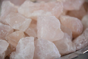 Raw Rose Quartz
