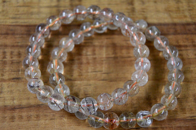 Rutilated Quartz Bracelet (8mm)