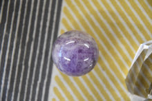 Chevron Amethyst Sphere (Mini)