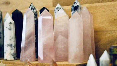 Rose Quartz Obelisk