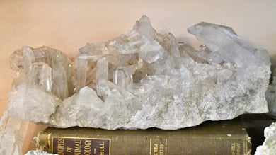 MASSIVE Clear Quartz Cluster *price drop*