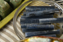 Blue Kyanite Hexagon Wand