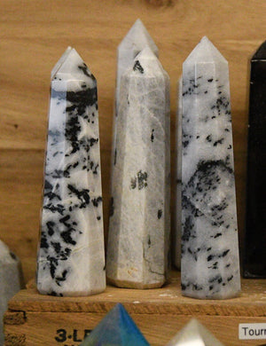 Tourmalinated Quartz Obelisk