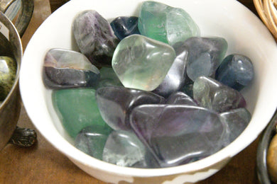 Fluorite (Tumbled) Grade A Quality