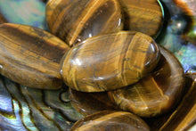 Gold Tiger's Eye - Worry Stone