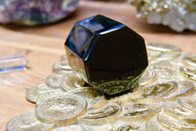 Hexagon Free Shape Black Obsidian