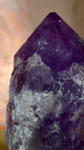 Large Amethyst Standing Point