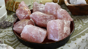 Medium Raw Rose Quartz