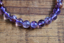 Super 7/Sacred 7 Amethyst Cacoxenite Cacoxenite Bracelet (8mm)