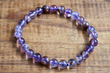 Super 7/Sacred 7 Phantom Amethyst Cacoxenite Bracelet (8mm)